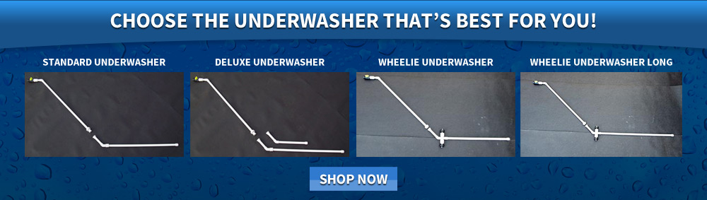 Choose the Underwasher that's best for you!